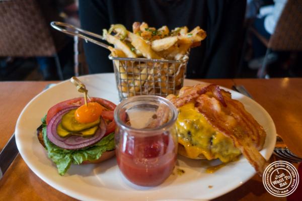 Burger atDavid Burke's Kitchen in New York, NY