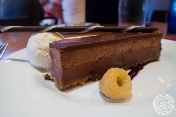 Chocolate hazelnut crunch bar at David Burke's Kitchen in New York, NY