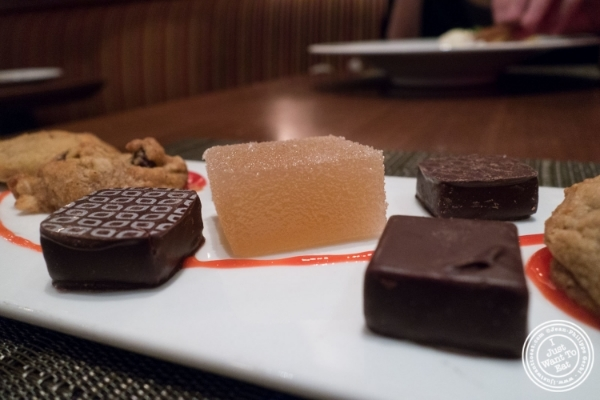 Chocolates and pate de fruit at Ça Va Todd English in New York, NY