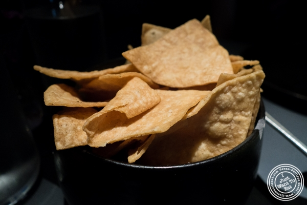 Tortilla chips at ABC Cocina in New York, NY