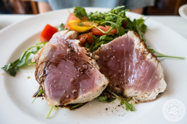 Pan seared tuna at Becco in New York, NY