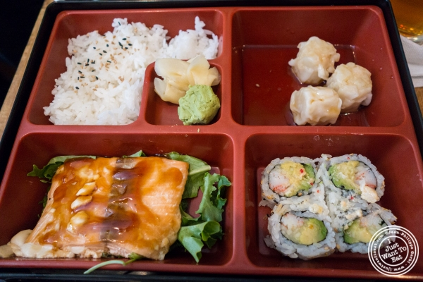 Bento box at Bamboo 52 in New York, NY