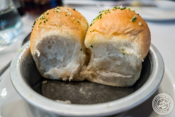 Brioche bread at Quality Meats Steakhouse, New York, NY