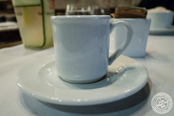 Espresso at Quality Meats Steakhouse, New York, NY