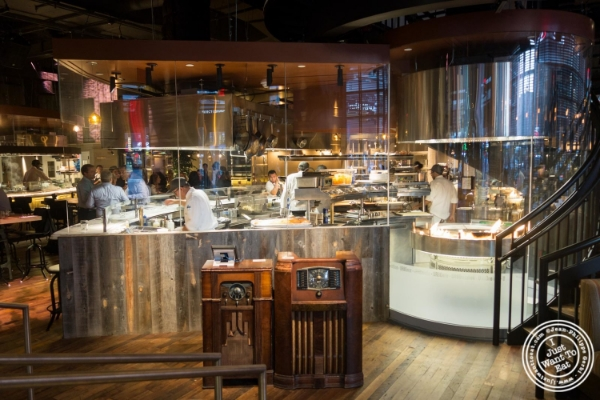 Kitchen at Urbo in Times Square, New York, NY