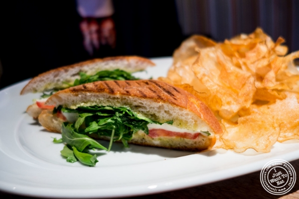 Panino at Urbo in Times Square, New York, NY