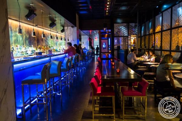 lounge at Hakkasan in NYC, NY