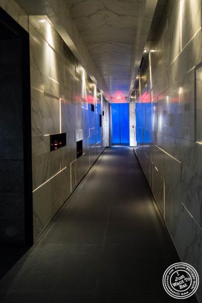 entrance at Hakkasan in NYC, NY