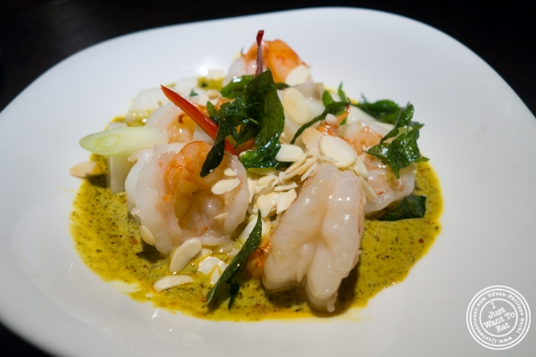 spicy prawn at Hakkasan in NYC, NY