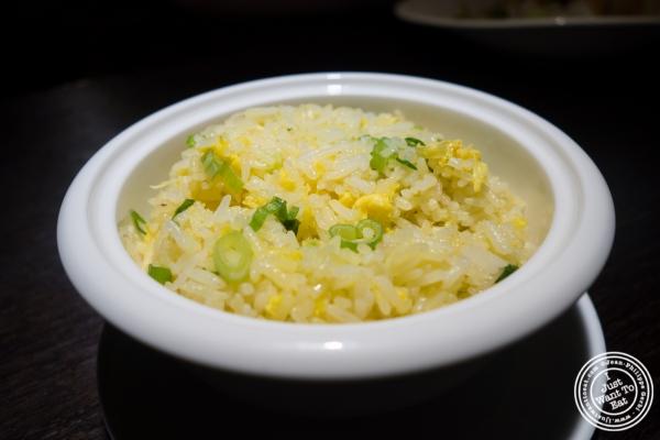 fried rice at Hakkasan in NYC, NY
