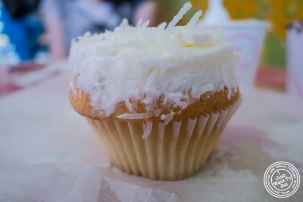 Coconut cupcake at Sugar Sweet Sunshine in New York, NY