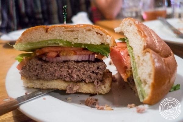 The Classic Burger at Spiegel in New York, NY