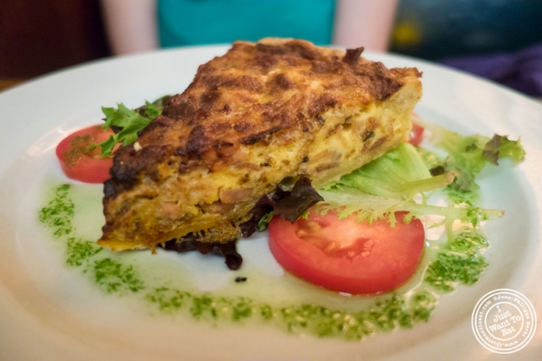 Quiche Lorraine at Pigalle in New York, NY