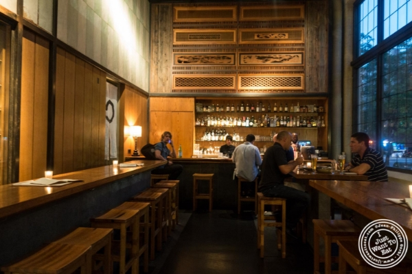Bar at En Japanese Brasserie in New York, NY