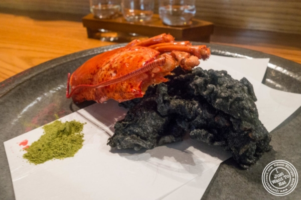 Lobster tempura at En Japanese Brasserie in New York, NY