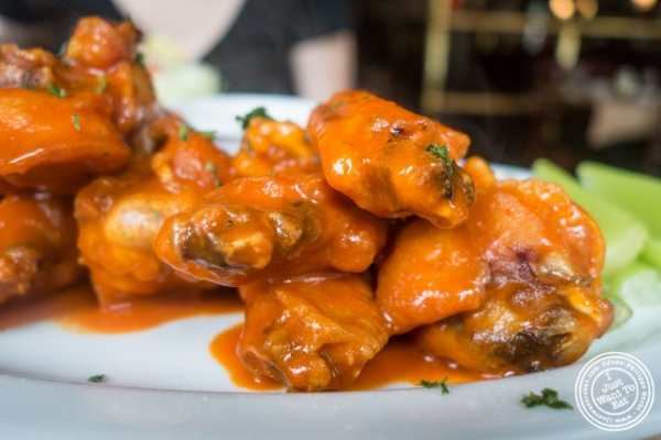 Buffalo wings at Maxwell's Tavern in Hoboken, NJ