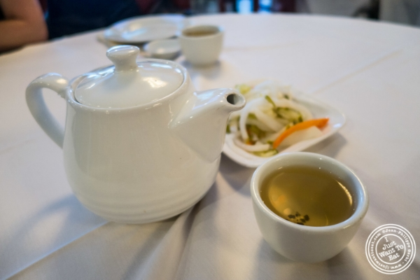 Tea at Oriental Garden in Chinatown - New York, NY