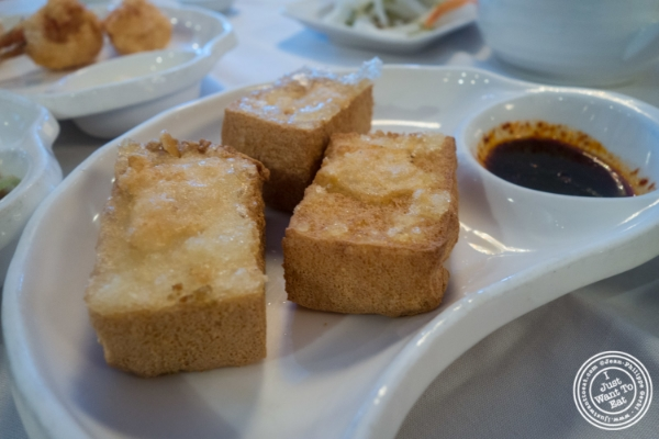 Crispy tofu at Oriental Garden in Chinatown - New York, NY