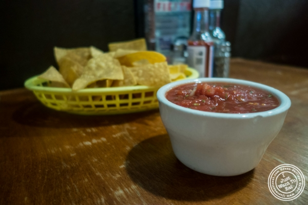 Chips and salsa at East LA in Hoboken, NJ