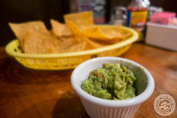 Guacamole at East LA in Hoboken, NJ