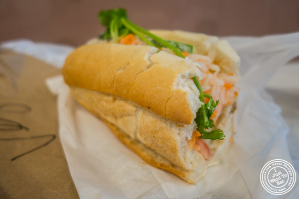 Banh Mi Do Chay at Banh Mi Saigon Bakery in New York, NY