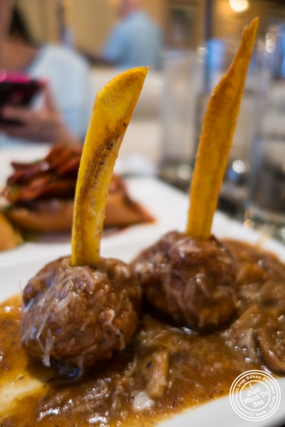meatballs at Havana Alma De Cuba in New York, NY