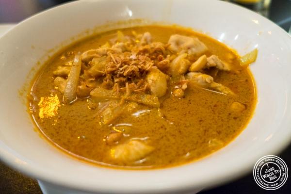 curry massaman at Bangkok House in Hell's Kitchen, NY, New York