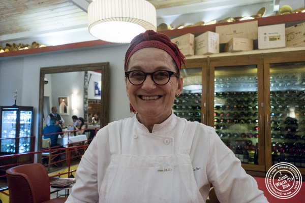 Chef Mara Salles at Tordesilhas in Sao Paulo, Brazil