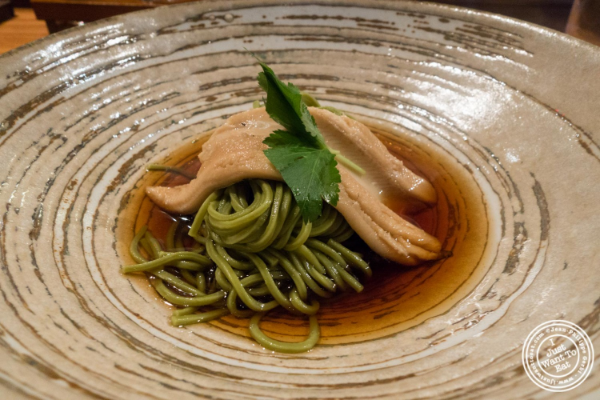 Anago chasoba at En Japanese Brasserie in New York, NY