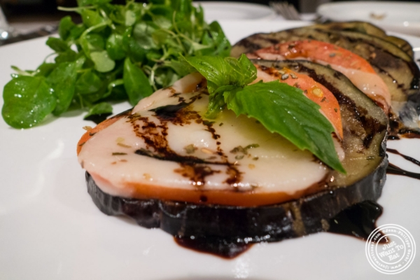 Parmigiana estiva atIl Corso, Italian Restaurant in New York, NY