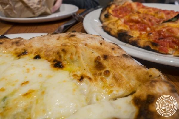 Quattro formaggi atLa Pizza & La Pasta at Eataly in New York, NY