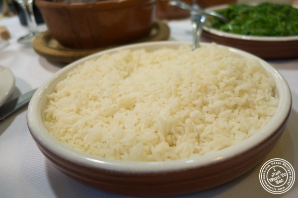 Rice at Bolinha in Sao Paulo, Brazil