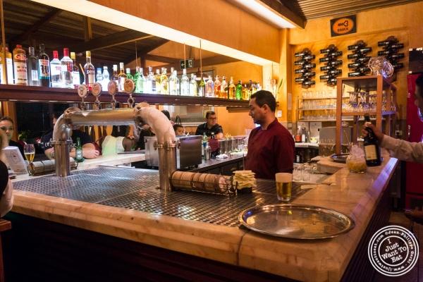 bar at Margherita Pizzeria in Sao Paulo, Brazil