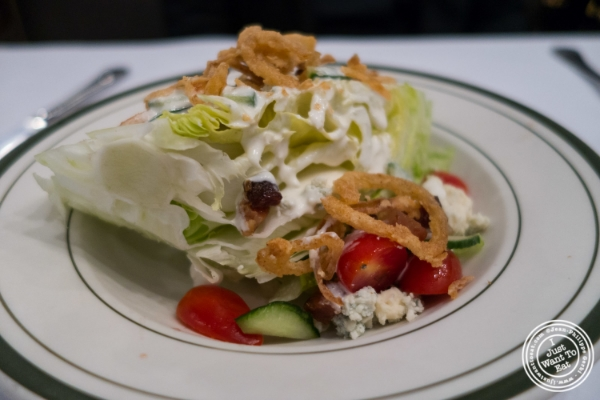 Wedge salad at City Lobster and Steak in New York, NY