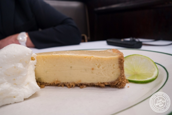 Key lime pie at City Lobster and Steak in New York, NY