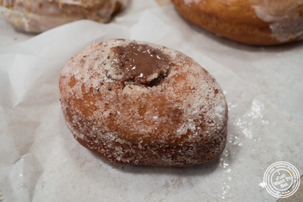 Nutella donut at Dough in Chelsea, New York, NY