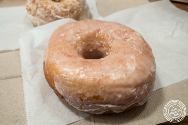 Glazed donut at Dough in Chelsea, New York, NY