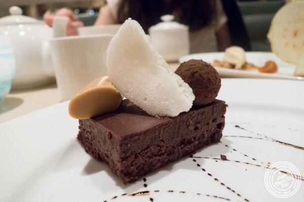 Chocolate decadence  at  Maze by Gordon Ramsay in New York, NY