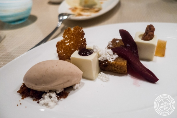 Gingerbread at Maze by Gordon Ramsay in New York, NY