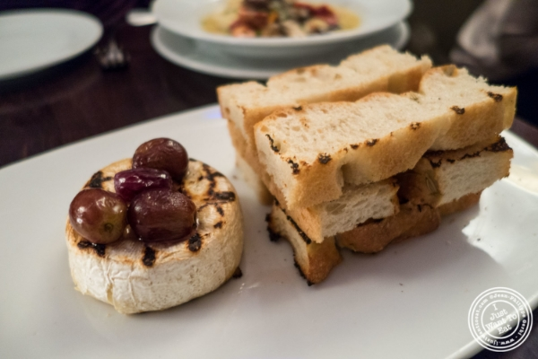 Grilled camembert at Eatery, Theater District, NYC, New York