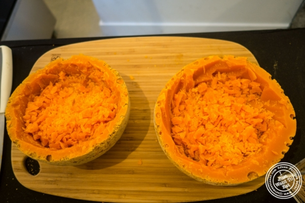 Halloween with mimolette at The French Cheese Board