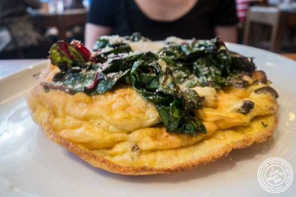Frittata at Giovanni Rana in Chelsea Market, NYC, New York