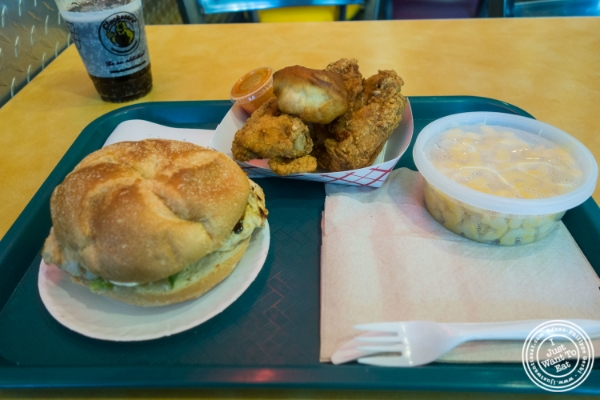 Food atCluck-U Chicken in Hoboken, NJ