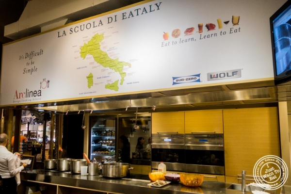 Abate Fetel Pear Tasting by Chef Nicoletta Grippo at La Scuola in Eataly