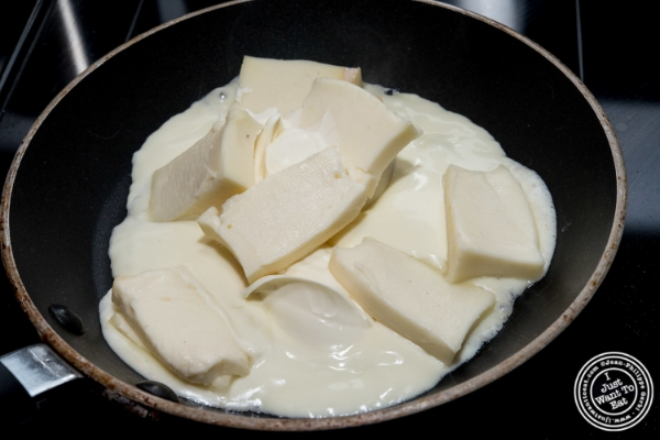 Taleggio and Mascarpone cream