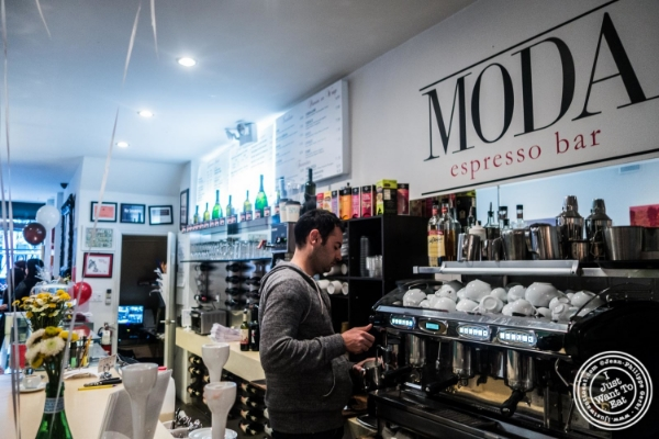 Moda Espresso and Wine Bar in New York, NY