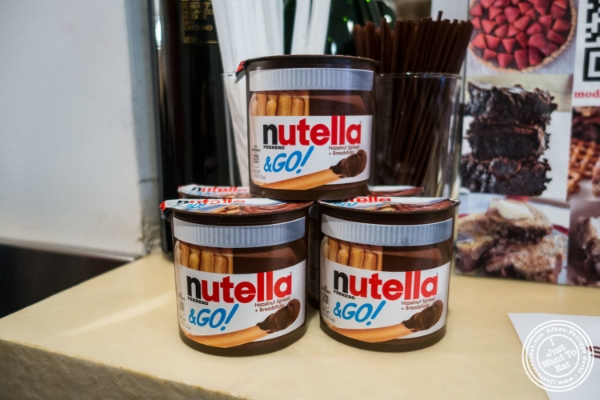 Nutella at Moda Espresso and Wine Bar in New York, NY