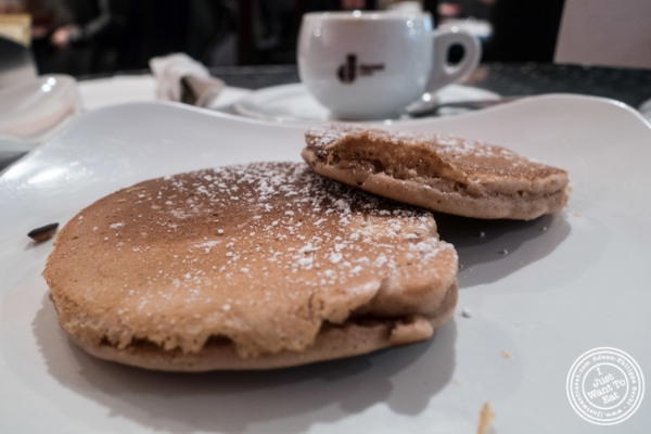 Nutella Pancakes at   Moda Espresso and Wine Bar in New York, NY