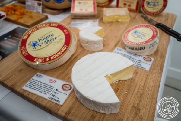 Brie d'Isigny  at The French Cheese Board