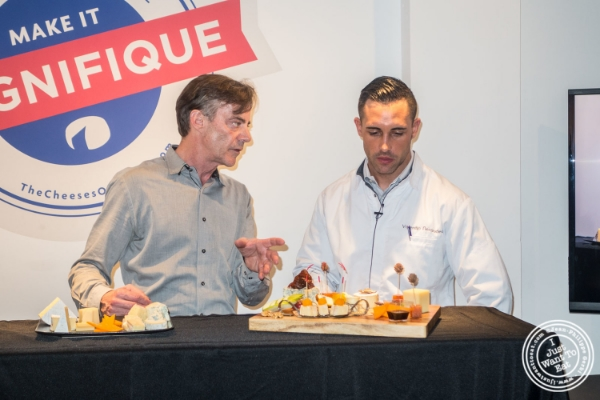 Max McCalman and Chef Valentin Néraudeau  at The French Cheese Board